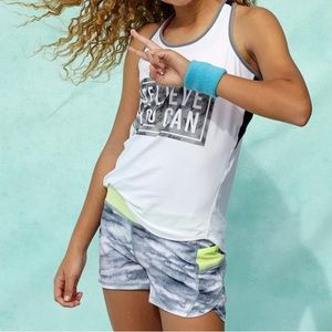 Athleta Girls Printed Record Breaker Shorts
